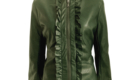 polyleatherjacketgreen