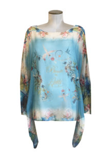 The Heaven Tie Die Blouse