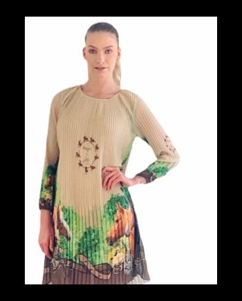 Amazon plisse dress