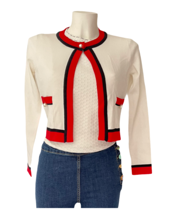 rood wit bolero vestje