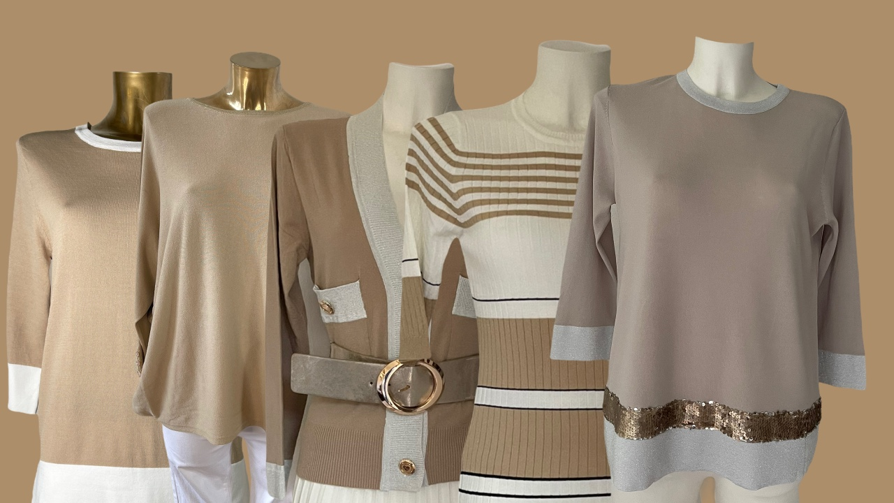 camel pullovers