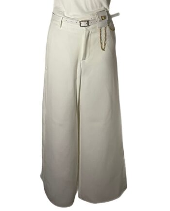 pantalon met slpitpijpen