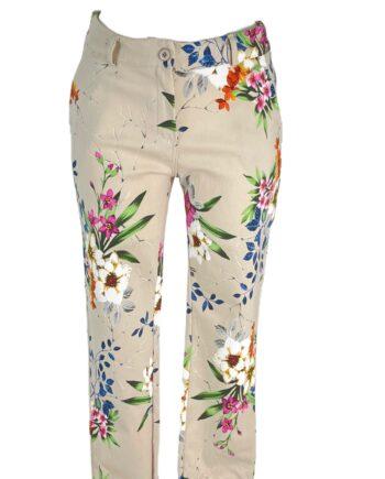 cotton stretch flower pant